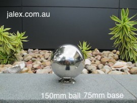 150mm Stainless Steel Ball on 75mm Hemisphere
