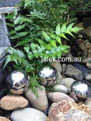 100mm x 3 Stainless Steel Balls