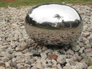 Oval 316 Stainless Steel Ball 400 x 400 x 600