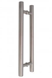 32mm Round 500mm Stainless Steel Door Handles