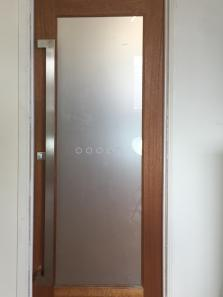 Offset Rectangular 1500mm Stainless Steel Handles