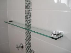 Glass Shelf 1000mm x 100mm - AUSTRALIAN MADE SAFETY GLASS
