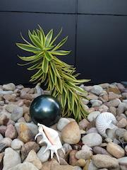 Metallic Green 150mm Stainless Steel Ball