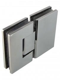 Glass Door Hinge (Pair) 316 Stainless Steel 8mm - 12mm Glass