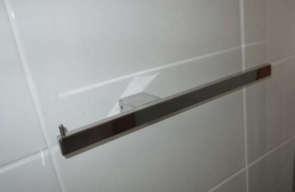 Single Toilet Roll Holder And Hand Towel Rail Jalex Hardware