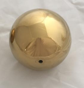 Gold Electro Plated Stainless Steel Ball